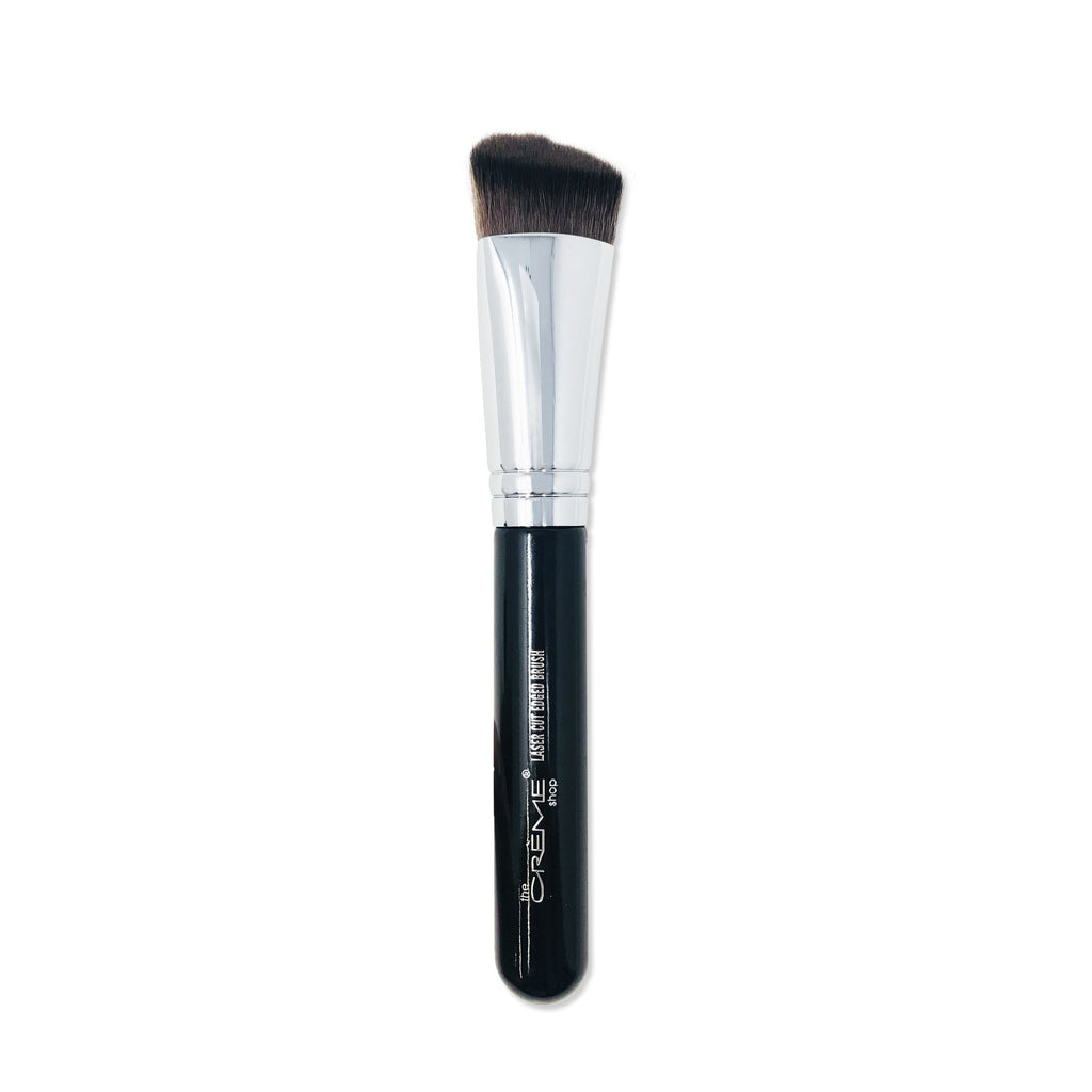 Laser Cut Edged Brush Black - the-creme-shop-cosmetics-and-beauty-supply