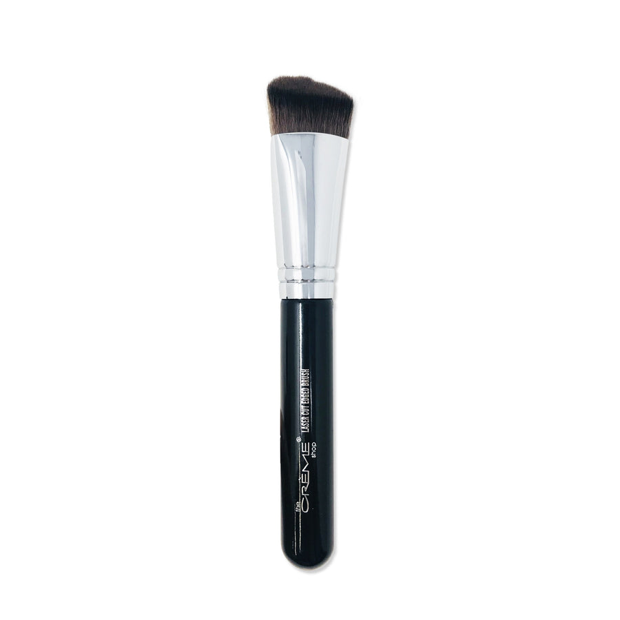 Laser Cut Edged Brush Black