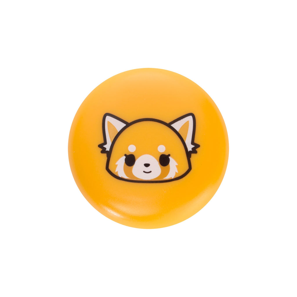 Aggretsuko Macaron Lip Balm - Raspberry Lip Balms The Crème Shop x Sanrio