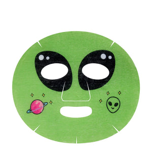 Power Up, Skin! Animated Alien Face Mask - Power of Greens - The Crème Shop
