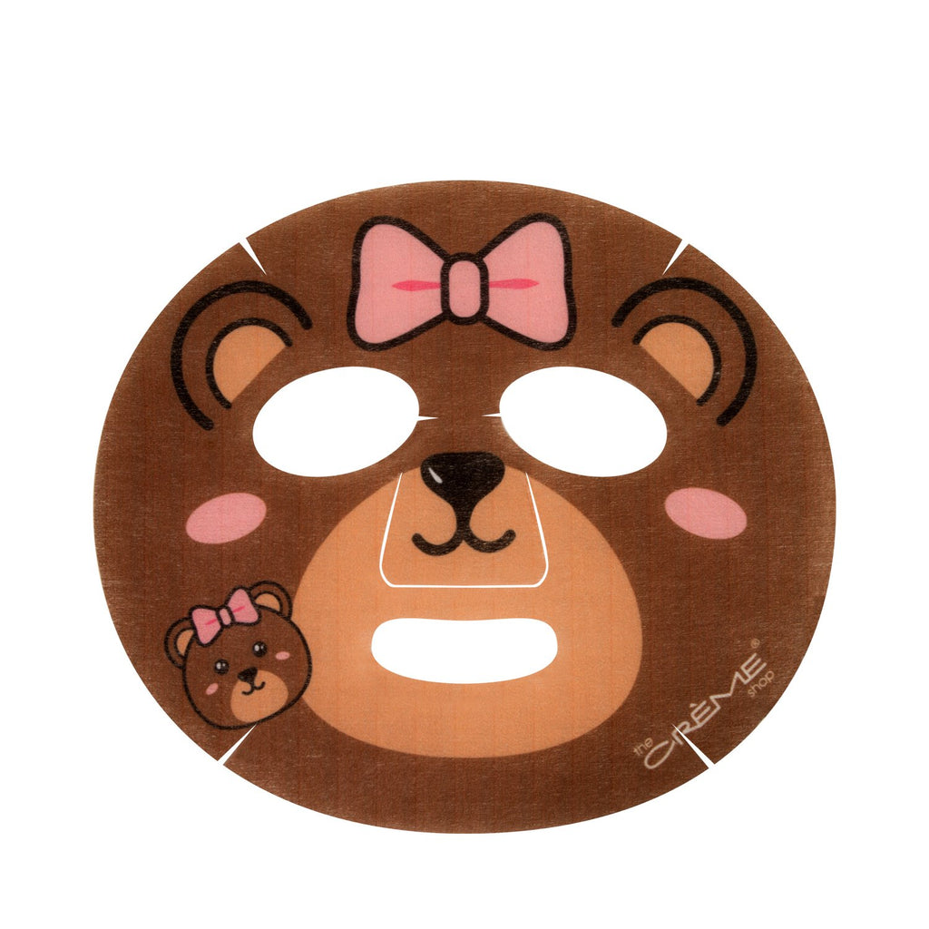 Be Bouncy, Skin! Animated Bear Face Mask - Hydrating Watermelon - The Crème Shop