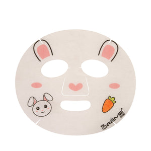 Be Hydrated, Skin! Animated Bunny Face Mask - Moisturizing Hyaluronic Acid - The Crème Shop