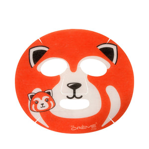 Be Smooth, Skin! Animated Red Panda Face Mask - Wrinkle-Reducing Retinol - The Crème Shop