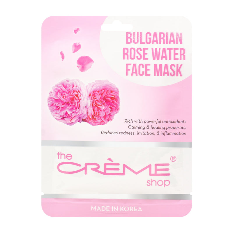 Bulgarian Rose Water Face Mask - The Crème Shop