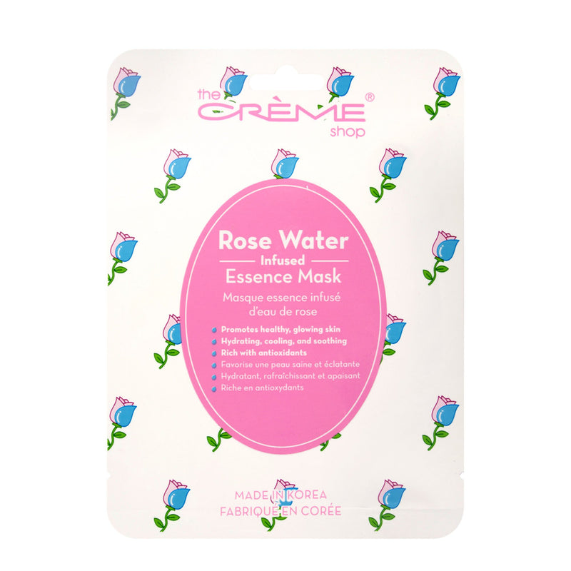 Rose Water Face Mask, Sheet masks - The Crème Shop