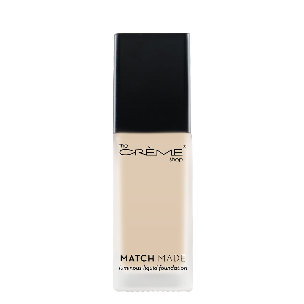 """Match Made"" Luminous Liquid Foundation Cosmetics - face The Crème Shop 11"