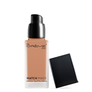 """Match Made"" Luminous Liquid Foundation - The Crème Shop"