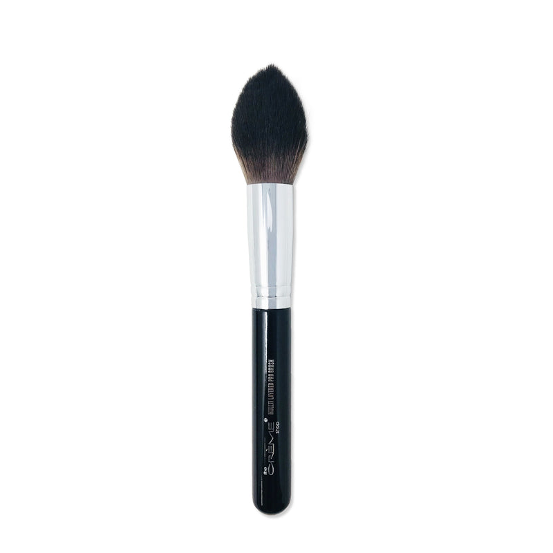 Multi Layered Pro Brush Black - The Crème Shop