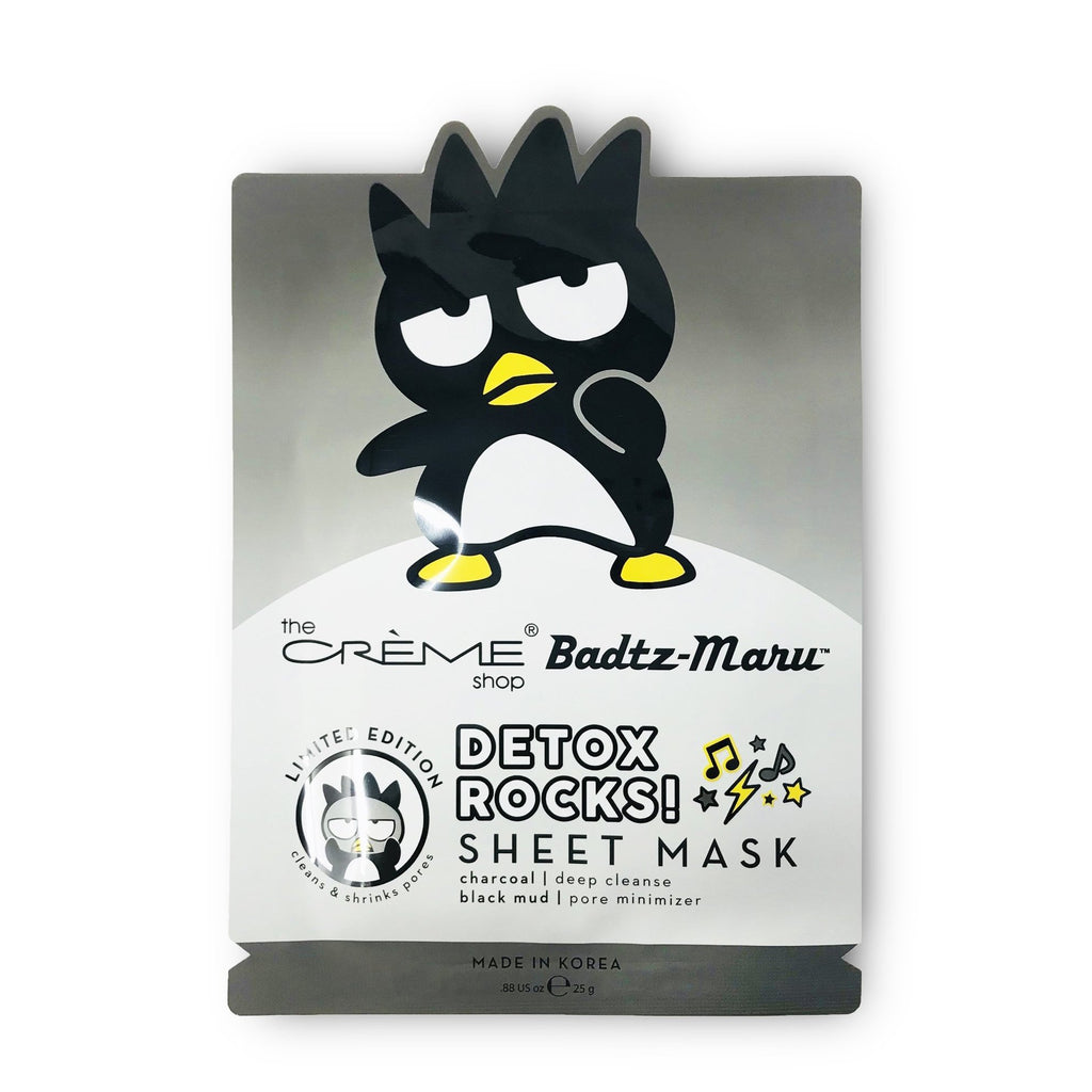 Badtz-Maru Detox Rocks! Sheet Mask - 12 Pack - The Crème Shop