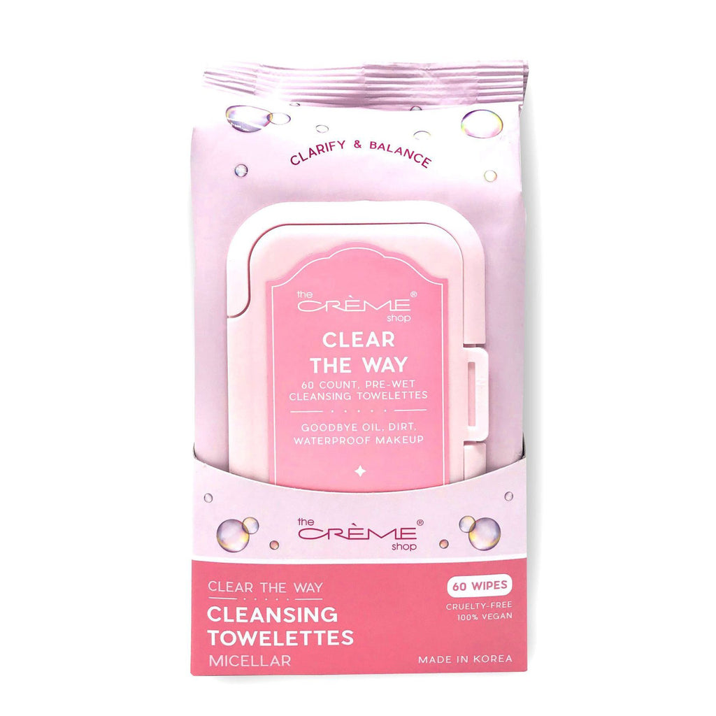 Micellar Pre-Wet Towelettes - The Crème Shop