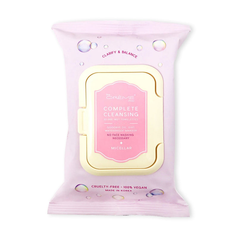 Micellar Pre-Wet Towelettes, Towelettes - The Crème Shop