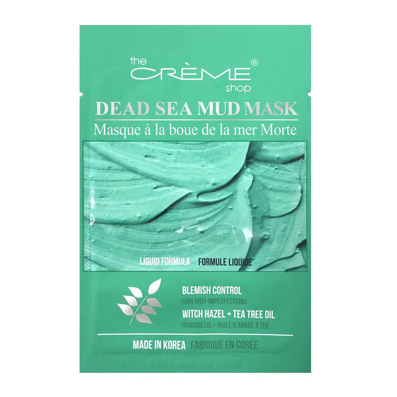 Dead Sea Mud Mask - Blemish Control: Witch Hazel + Tea Tree Oil - The Crème Shop