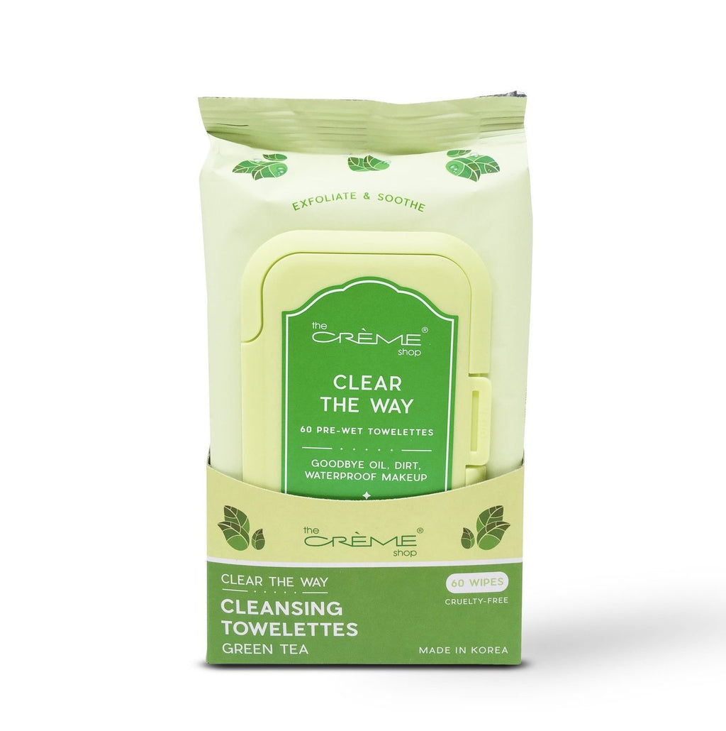 Complete Cleansing Green Tea Pre-Wet Towelettes - The Crème Shop