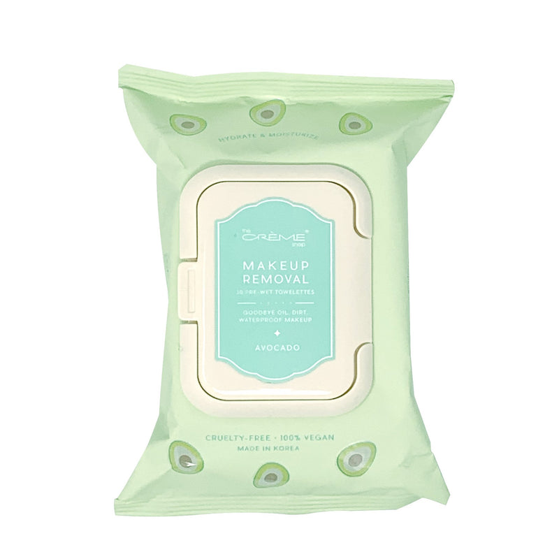 Complete Cleansing Avocado Pre-Wet Towelettes, Towelettes - The Crème Shop