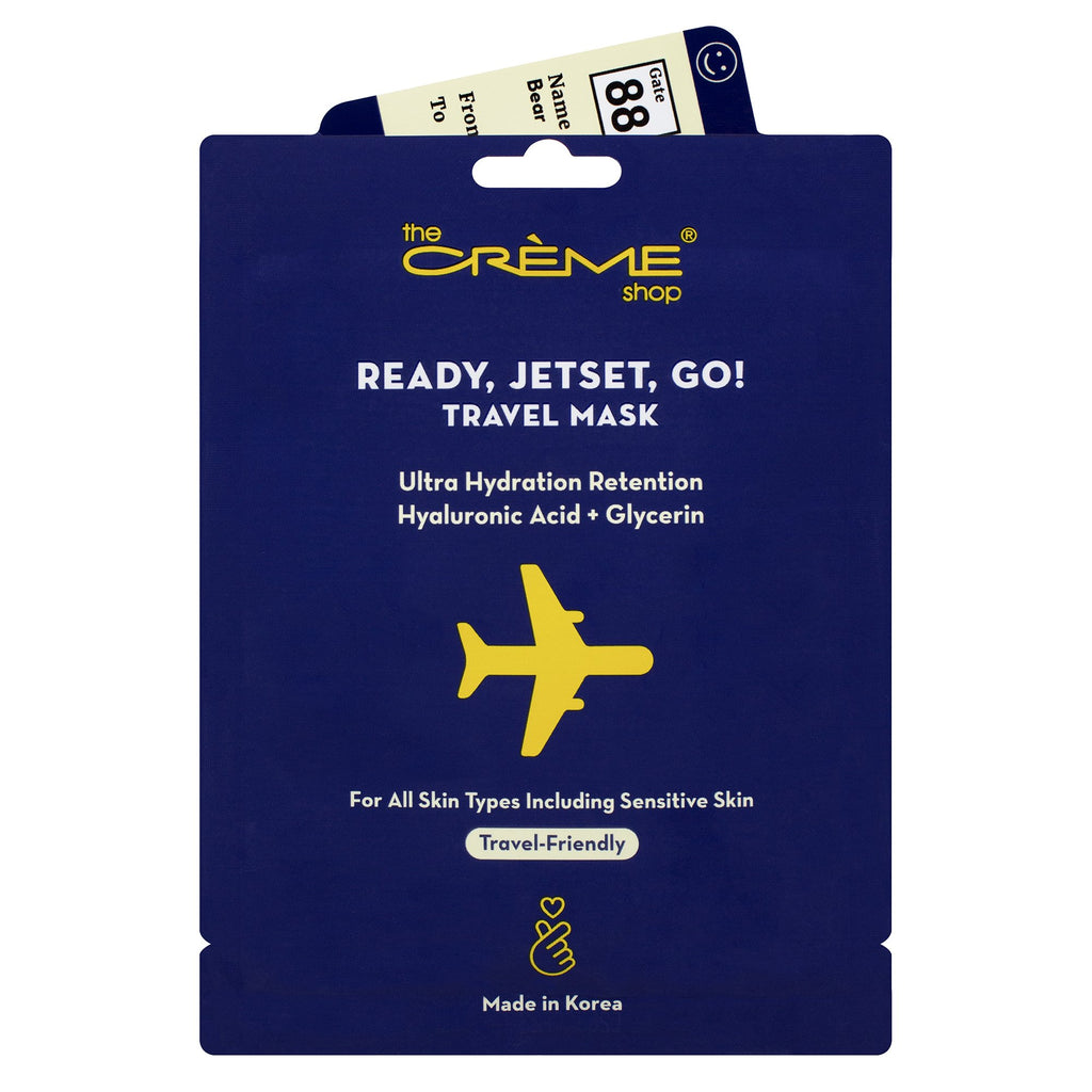 Ready, Jetset, Go! Travel Mask Sheet masks The Crème Shop