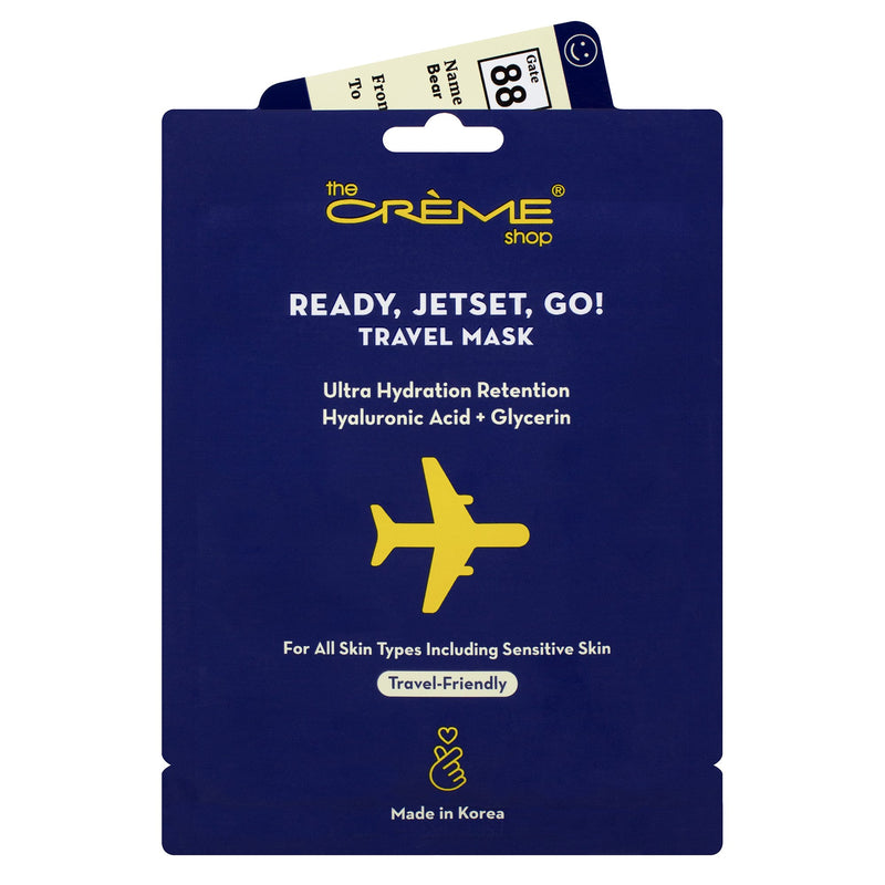 Ready, Jetset, Go! Travel Mask - The Crème Shop
