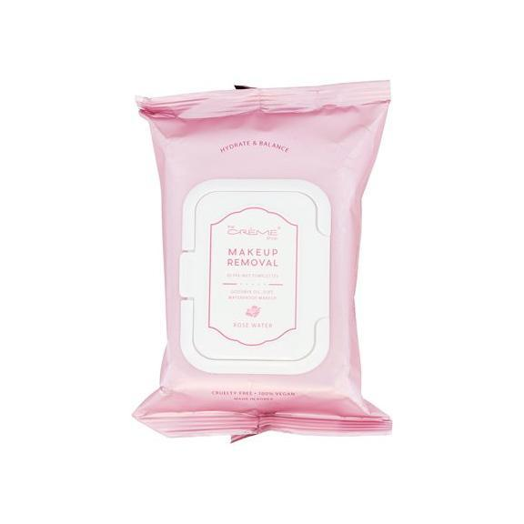 Rose Water 30 Pre-Wet Towelettes - The Crème Shop