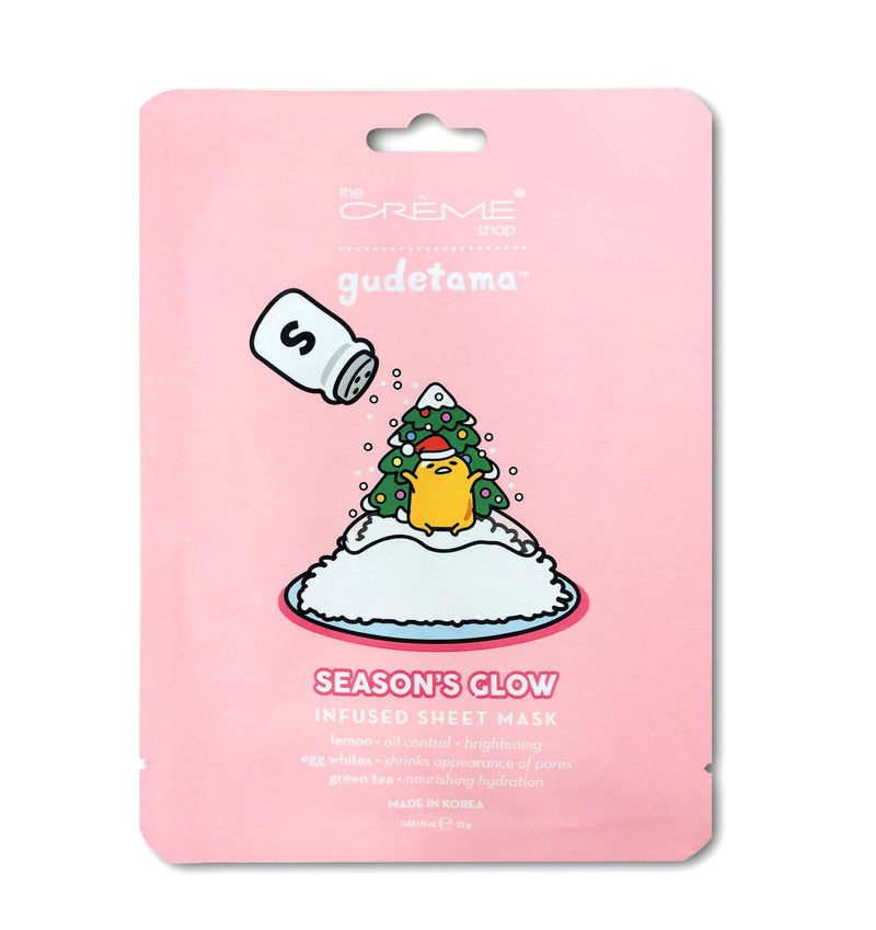 Gudetama - Season's Glow Sheet Mask - the-creme-shop-cosmetics-and-beauty-supply