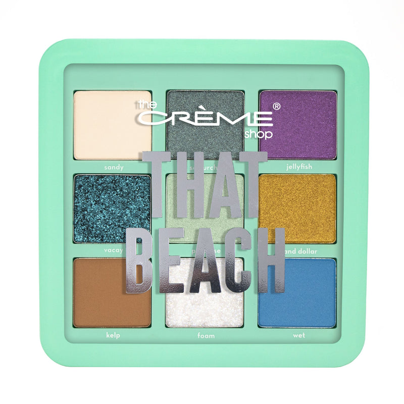 """That Beach"" Eyeshadow Palette - The Crème Shop"