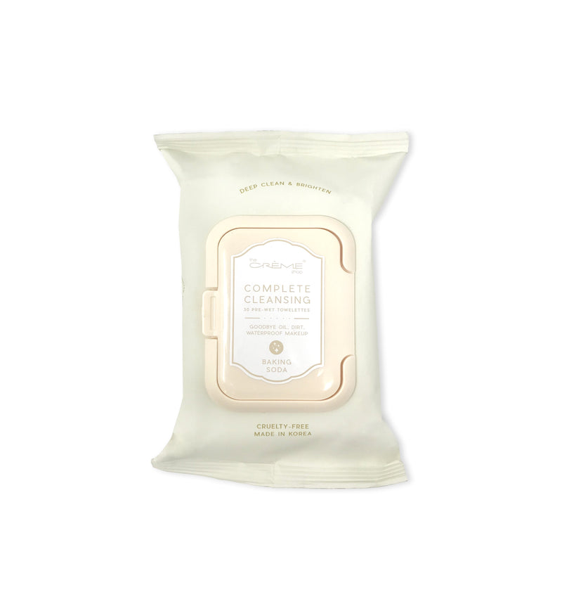Complete Cleansing Baking Soda Pre-Wet Towelettes - The Crème Shop