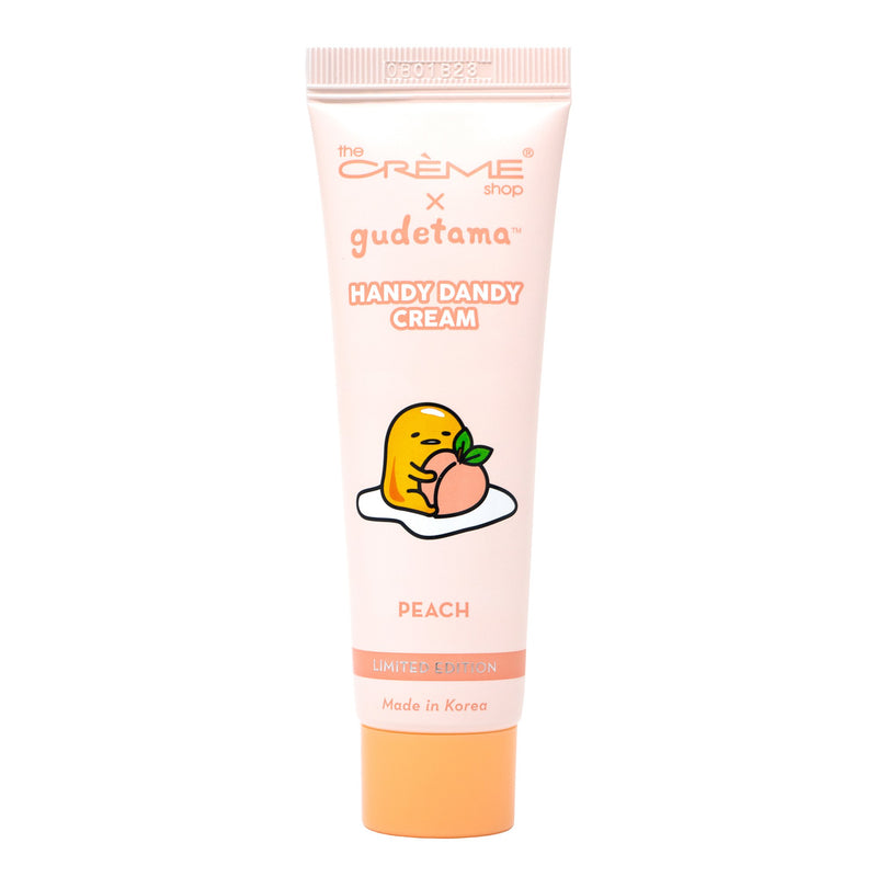 The Crème Shop x Gudetama Handy Dandy Cream (Limited Edition) | Peach (Travel-Sized) - The Crème Shop