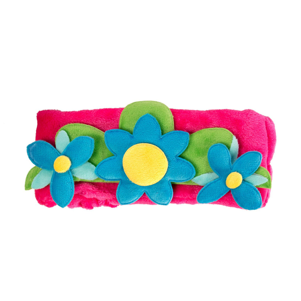 Queen Poppy Flower Crown Spa Headband - The Crème Shop