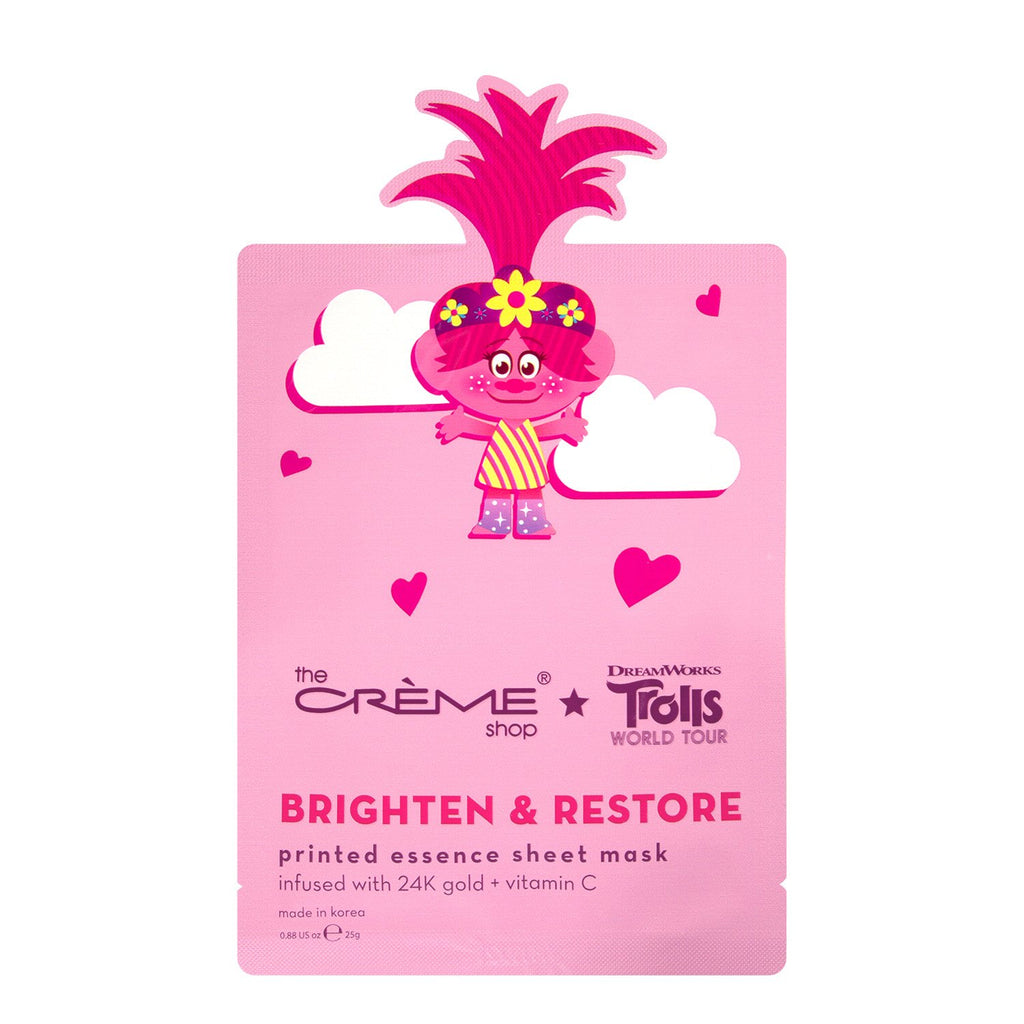 Queen Poppy Brighten & Restore Essence Sheet Mask - The Crème Shop