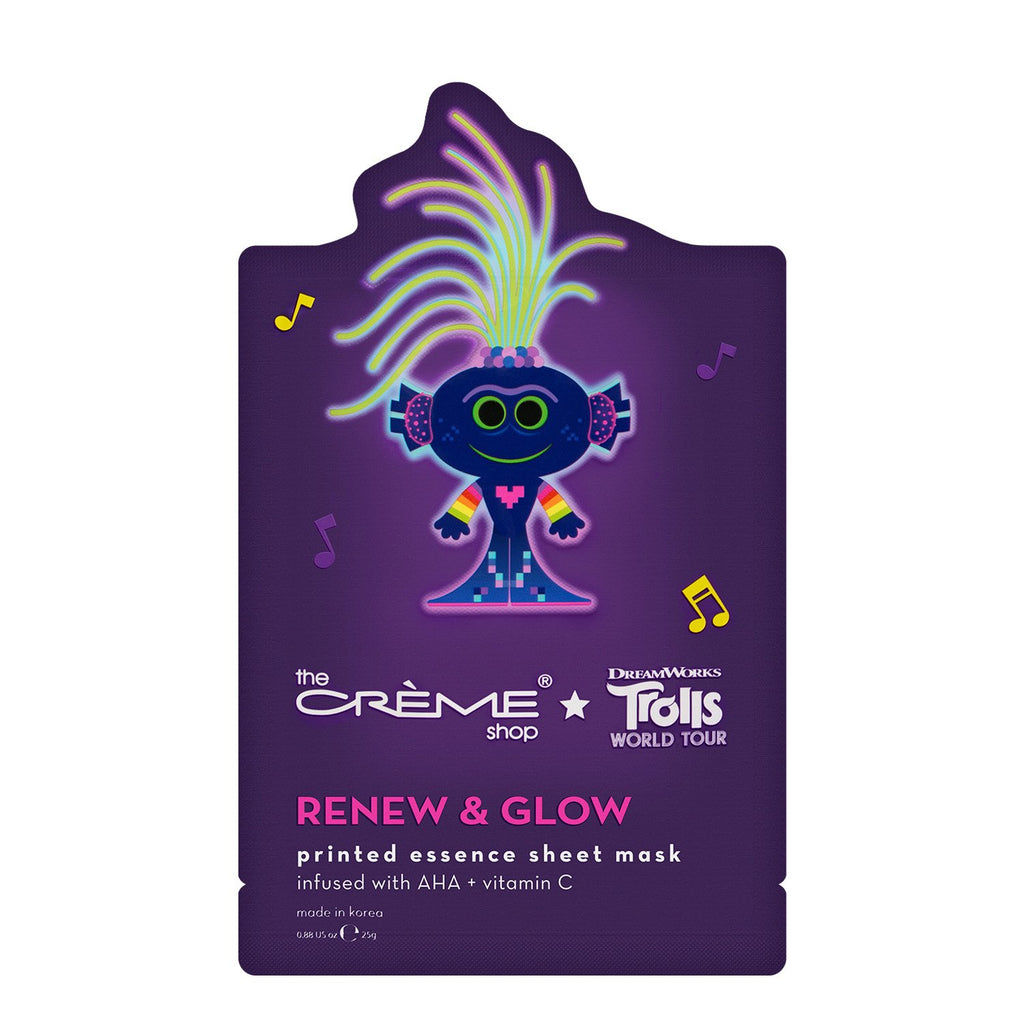 King Trollex Renew & Glow Essence Sheet Mask - The Crème Shop