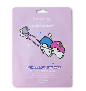 Little Twin Stars- Twinkle All The Way Sheet Masks - The Crème Shop