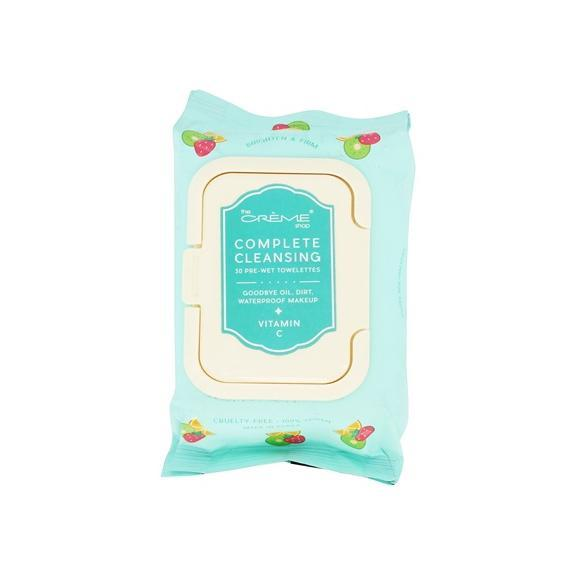 Complete Cleansing Vitamin C Pre-Wet Towelettes, Towelettes - The Crème Shop