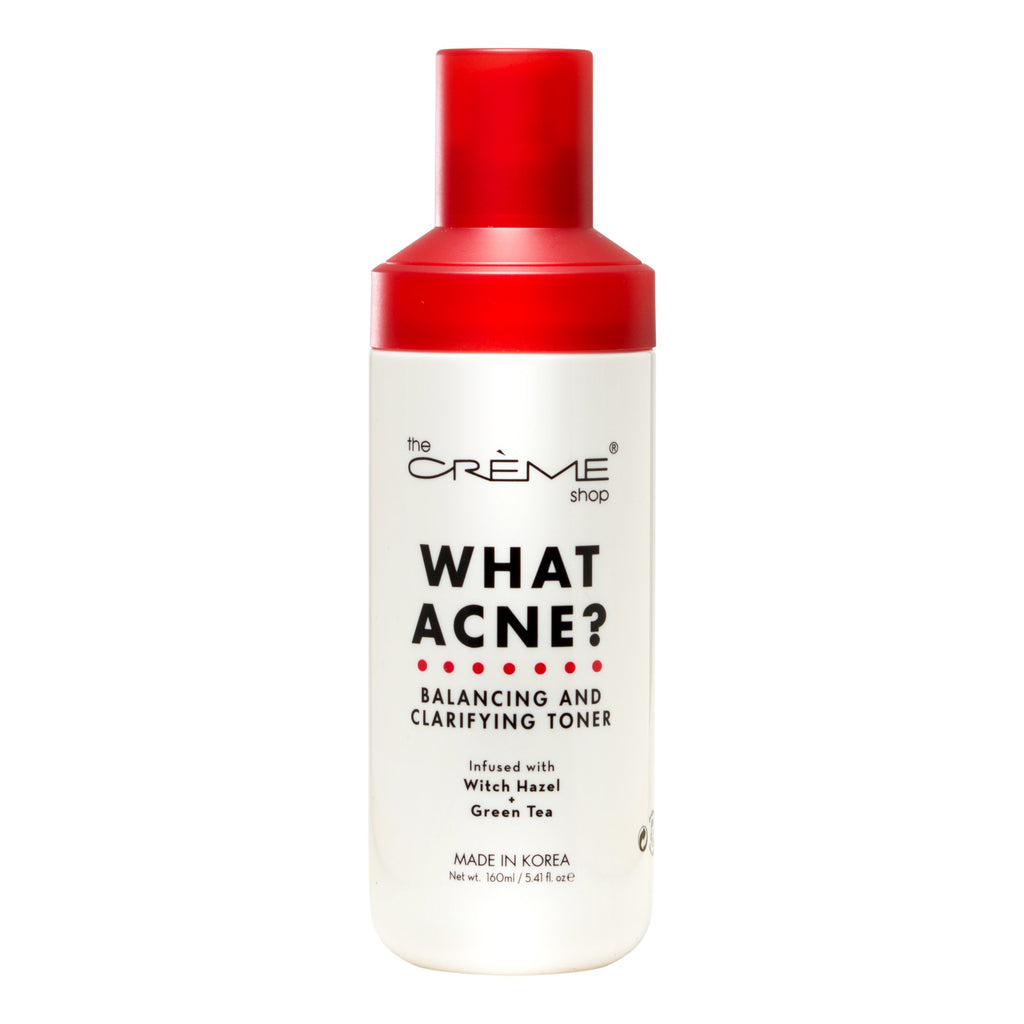 What Acne? - Balancing and Clarifying Toner - The Crème Shop