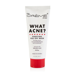 What Acne? - Purifying Peel-Off Mask - The Crème Shop