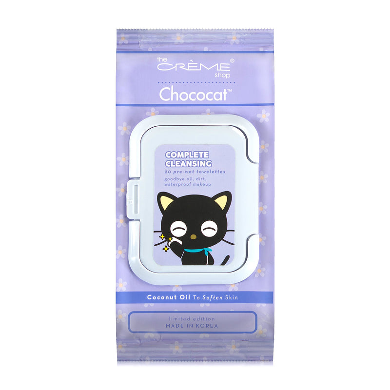 Chococat 20ct Pre-Wet Towelettes - The Crème Shop