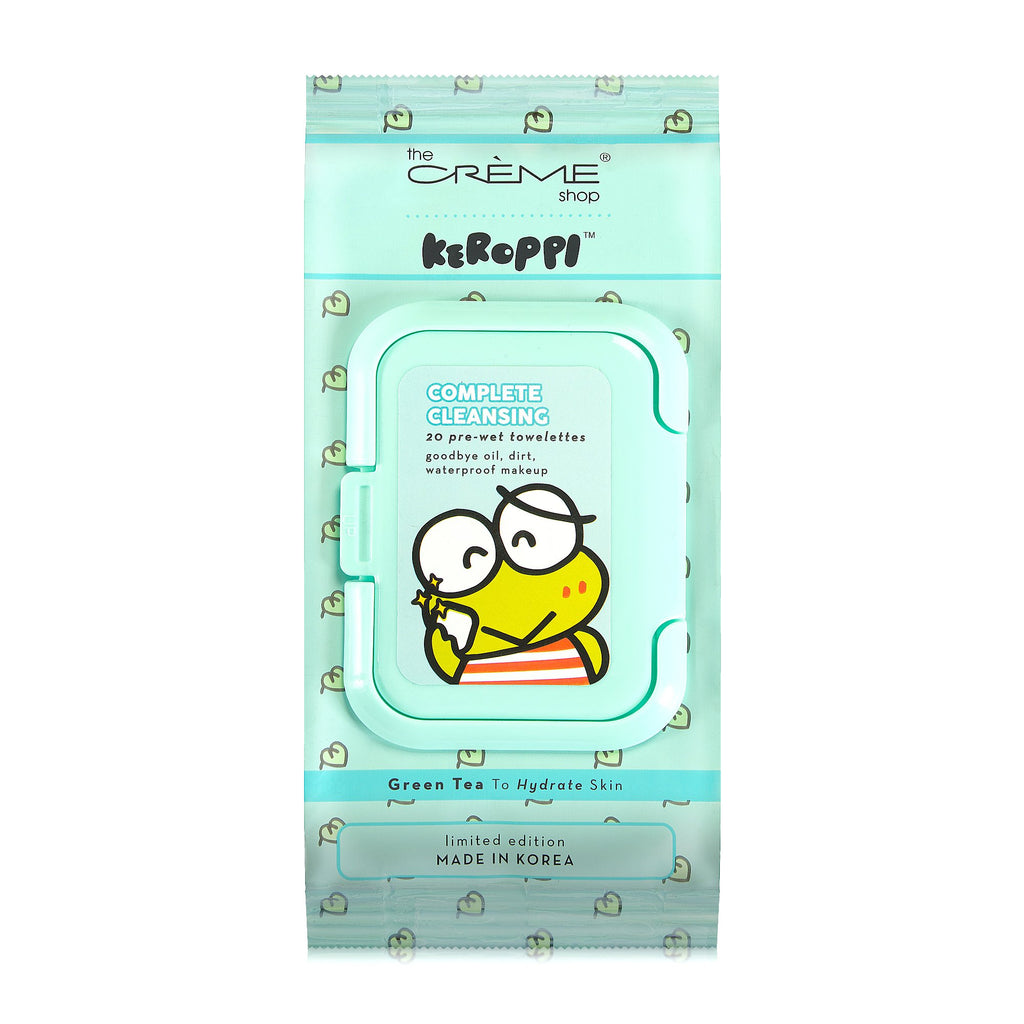 Keroppi 20ct Pre-Wet Towelettes - The Crème Shop