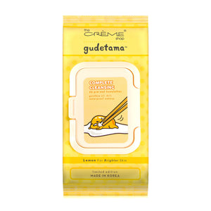 Gudetama 20ct Pre-Wet Towelettes - The Crème Shop