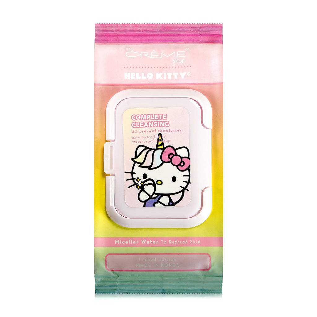 Hello Kitty Unicorn 20ct Pre-Wet Towelettes - The Crème Shop
