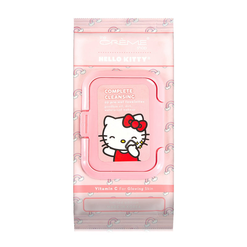 Hello Kitty 20ct Pre-Wet Towelettes - The Crème Shop