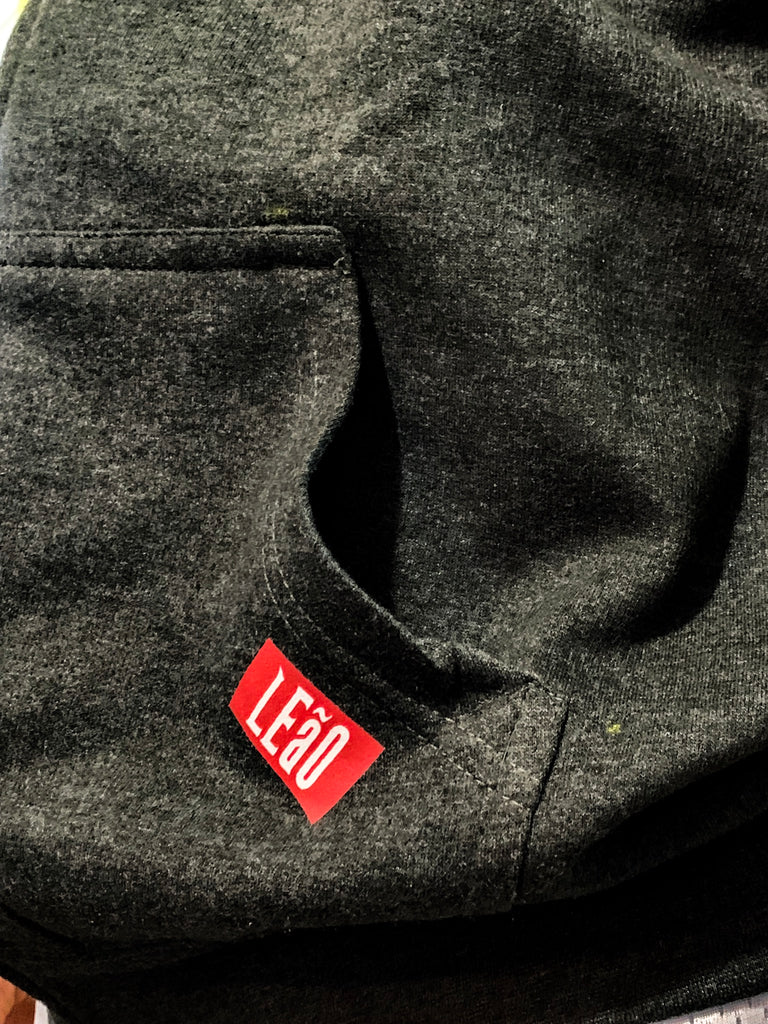LEaO Label Zip Up Hoodie