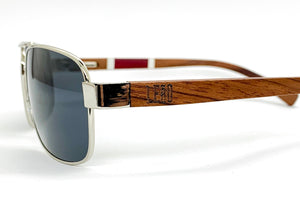 The Valente Low Profile Aviator Sunglasses