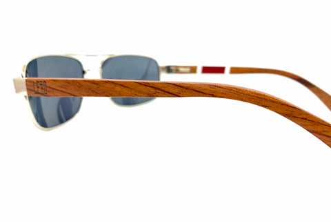 Ebony wood aviators