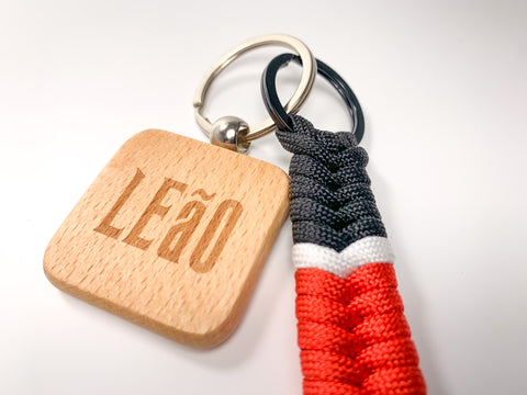 NEW LEaO OPTiCS Belt Ranked Key Chain