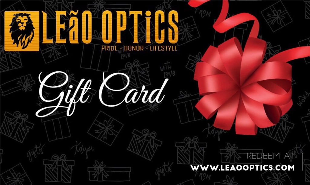 LEaO OPTiCS Gift Card Gift Card