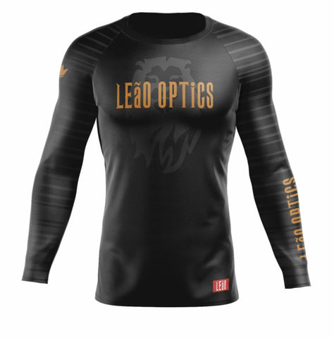 Image of LEaO OPTiCS Rash Guards LEaO OPTiCS Long Sleeve Rash Guard by Kingz Kimonos