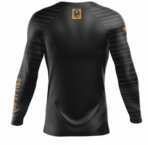 LEaO OPTiCS Long Sleeve Rash Guard by Kingz Kimonos