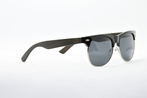 Image of Browline black sunglasses frames