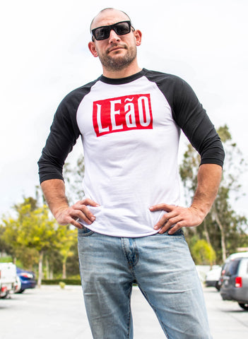 "Image of LEaO OPTiCS T Shirt ""LEaO"" Raglan T-Shirt"