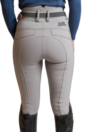 KATE dove grey breeches