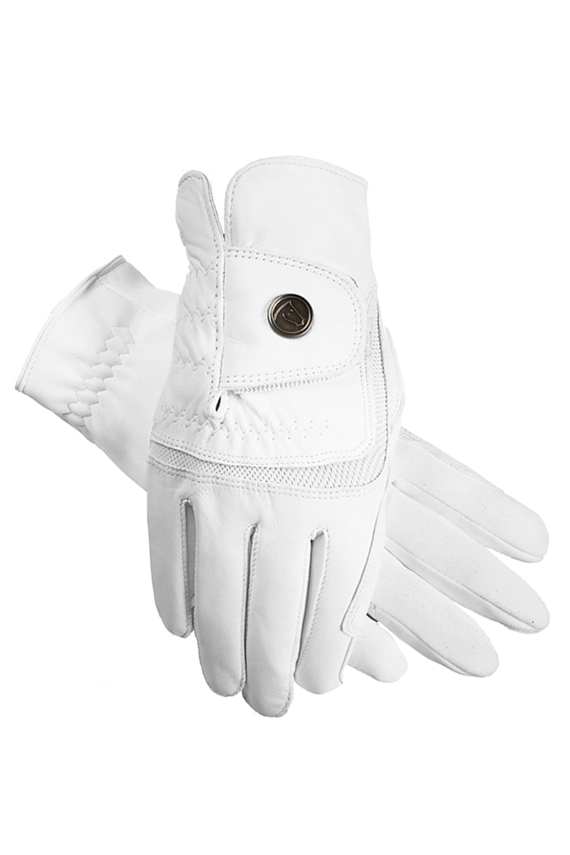 Gants hybrid gloves WHITE - Leveza