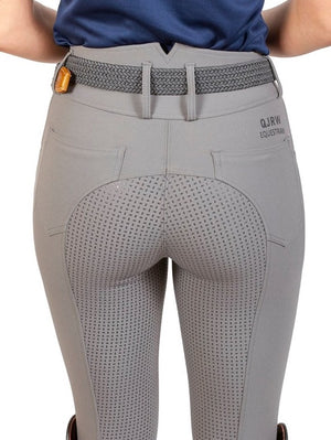 HANNAH HIGH WAISTED BREECH GREY - Leveza