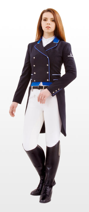 Erin tailcoat NAVY / ROYAL BLUE - Leveza
